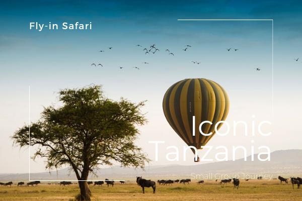 Safari Fly-in classico in Tanzania