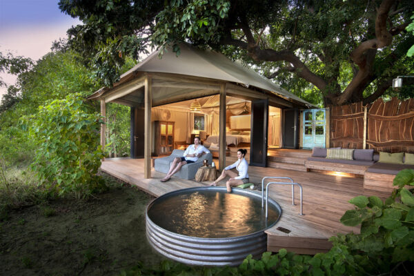 Luxury accommodation in Africa